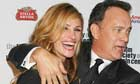Tom Hanks and Julia Roberts at the The 36th Film Society Of Lincoln Center's Gala Tribute