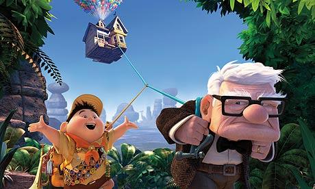 disney pixar up logo. Scene from Pixar#39;s Up