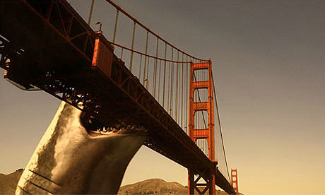 Scene from Mega Shark Vs Giant Octopus