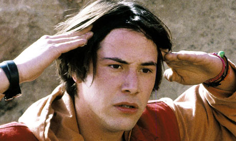 Keanu Reeves in Bill and Ted's Bogus Journey Photograph: The Kobal ...
