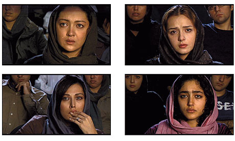Still from Abbas Kiarostami's Shirin