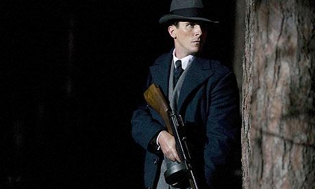 Christian Bale as Melvin Purvis in Public Enemies (2009)