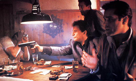 the world of organized crime in martin scorseses film goodfellas In goodfellas, scorsese explores both type of takes, but it is his use of sequence shots, primarily within the first 45 minutes of the film, which highlight henry's power and control during his early years in organized crime and, simultaneously foreshadow this power and control will not last.