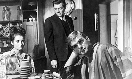 Jacqueline Sassard, Dirk Bogarde and Stanley Baker in Accident (1967)