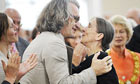 Wim Wenders with Pina Bausch
