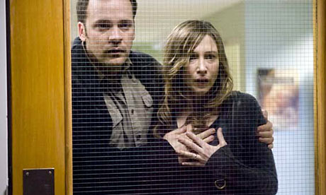 Peter Sarsgaard and Vera Farmiga in a still from the film Orphan