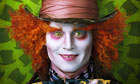 Johnny Depp as the Mad Hatter in Tim Burton's Alice in Wonderland