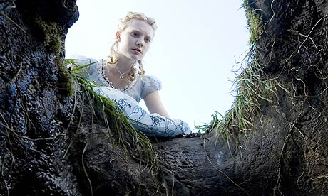 Mia Wasikowska in Alice in Wonderland (2010)