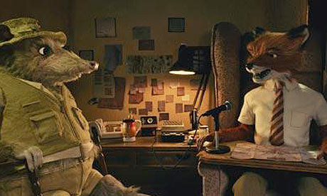 A scene from Wes Anderson's Fantastic Mr Fox (2009)