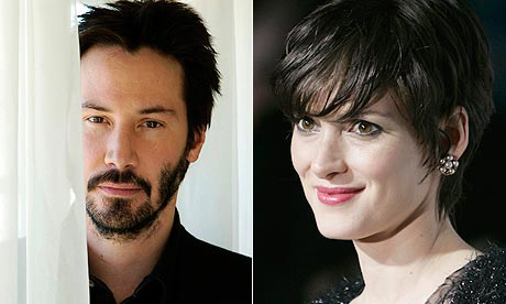 Keanu Reeves and Winona Ryder. Photograph: Chris Pizzello/AP and Danny