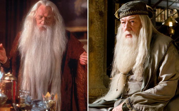 Richard Harris Dumbledore Vs Michael Gambon Dumbledore