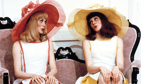 Catherine Deneuve and Francoise Dorleac in Les Demoiselles de Rochefort