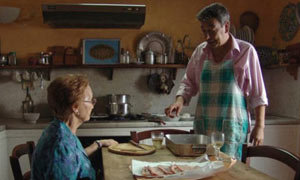 A still from Gianni Di Gregorio's comedy, Mid-August Lunch