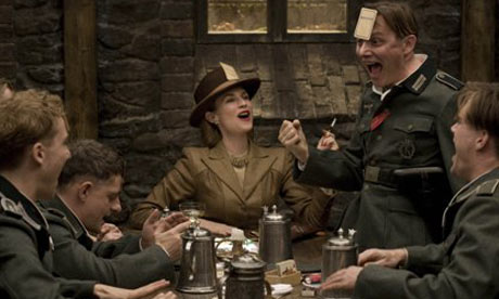 A scene from Quentin Tarantino's Inglourious Basterds