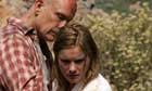John Malkovich and Jessica Haines in a scene from Disgrace