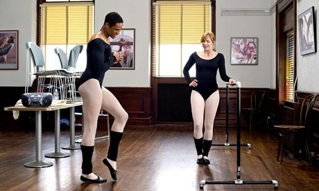 Damon Wayans Jnr and  Shoshana Bush in Dance Flick