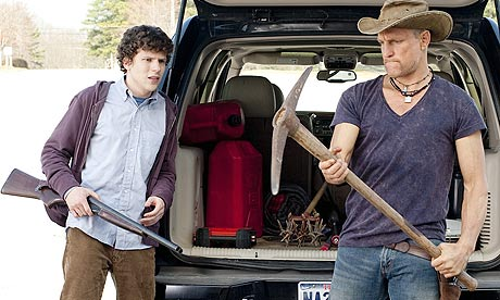 Jesse Eisenberg and Woody Harrelson in Zombieland (2009)