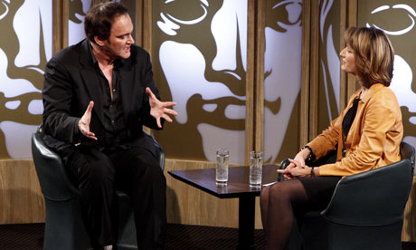 Quentin Tarantino at the BAFTA Life in Pictures interview, January 2010