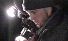 Shot in the dark ... Joshua Leonard playing a cameraman of the same name in The Blair Witch Project.