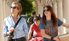 Annette Bening, left, with Julianne Moore in The Kids Are All Right