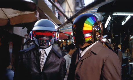 Daft punk look for longevity photograph itv rex featuresdaft punk