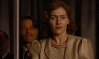 Guy Pearce and Kate Winslet in Mildred Pierce