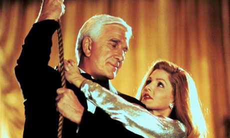 ... TV series Police Squad! (1982) ... always ended with [Leslie] Nielsen ...