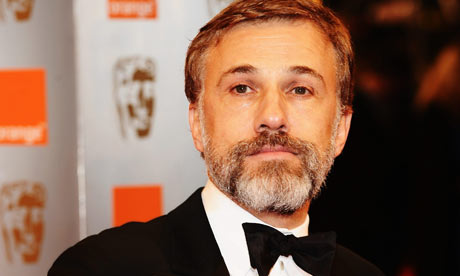 Baftas 2010: Christoph Waltz at the awards