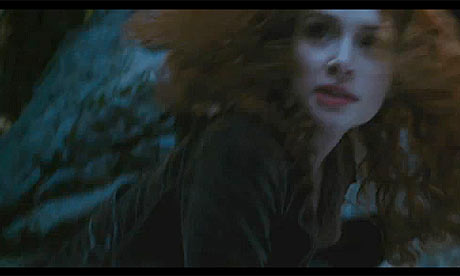 Scene from The Twilight Saga: Eclipse trailer