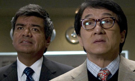 George Lopez and Jackie Chan in The Spy Next Door