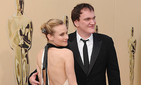 Oscars 2010: Inglourious Basterds actor Diane Kruger and director Quentin Tarantino
