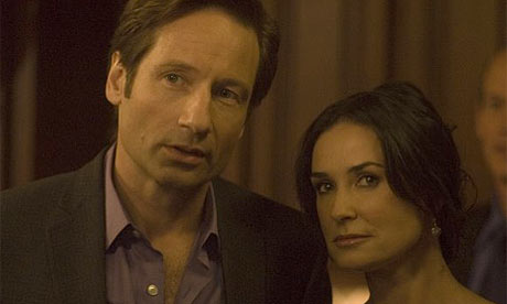 David Duchovny and Demi Moore in The Joneses