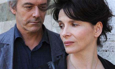 William Shimell and Juliette Binoche in Certified Copy