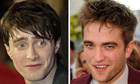 Daniel Radcliffe and Robert Pattinson