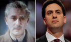 Anton Walbrook in The Life and Death of Colonel Blimp and Ed Miliband