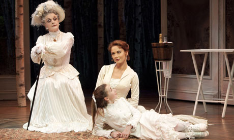 Angela Lansbury, Catherine Zeta-Jones and Keaton Whittaker in A Little Night Music