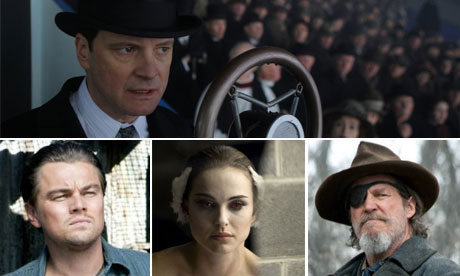 Baftas 2011: The King's Speech, Inception, Black Swan and True Grit