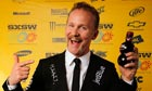 Custom made … Morgan Spurlock at the Sundance premier of The Greatest Movie Ever Sold in March.
