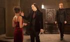 Michael Sheen (centre) in The Twilight Saga: Breaking Dawn – Part 1.