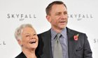 Bond 23, Skyfall: Daniel Craig and Judi Dench