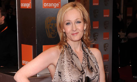 JK Rowling. Photograph: David Fisher/Rex Features
