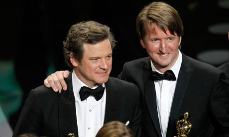 The King's Speech - 2011 Oscar winners Colin Firth, Tom Hooper
