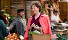 Meryl Streep as blogger Julia Child in food-themed mediocrity Julie and Julia
