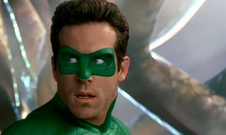 Green lantern mask face paint - photo#25