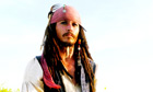 Marathon man ... Johnny Depp as Captain Jack Sparrow in Pirates of the Caribbean.