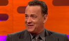 Tom Hanks on the Graham Norton show