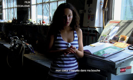 Still from Jean-Luc Godard's Film Socialisme