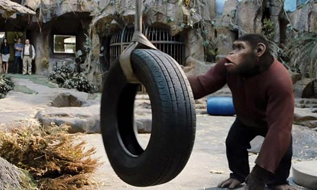 ... required … Rise of the Planet of the Apes. Photograph: Everett/Rex