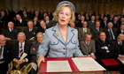 Political player … Meryl Streep as Margaret Thatcher in The Iron Lady