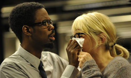 Chris Rock and Julie Delpy in Delpy's 2 Days in New York